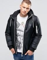 Blend of America Hooded Parka Jacket Black