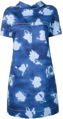 Marni floral print shift dress