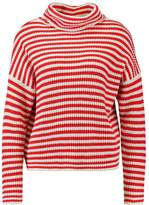 Noisy May NMHARLEY FUNNEL NECK JUMPE Jumper red/white