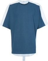 Oamc shirt back T-shirt - men - Cotton/Viscose - XL