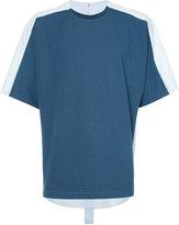 Oamc shirt back T-shirt - men - Cotton/Viscose - XS