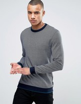 Ted Baker Ribbed Jersey Sweat