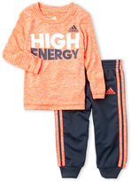 adidas Infant Boys) 2-Piece High Energy Tee & Pants Set