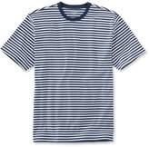 L.L. Bean L.L.Bean Pima Cotton T-Shirt, Traditional Fit Narrow Stripe
