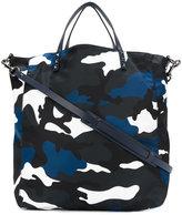 Valentino Garavani camouflage print tote