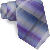 Van Heusen Shaded Plaid Tie