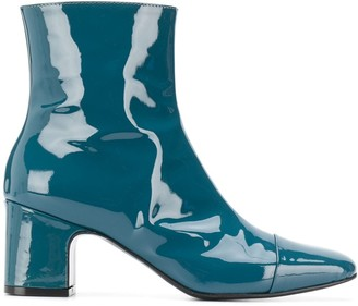 Carel Sucette 65mm square-tip ankle boots