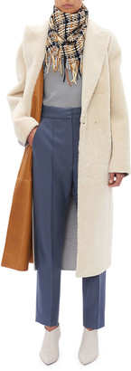 Boon The Shop Lambskin Shearling and Leather Reversible Coat