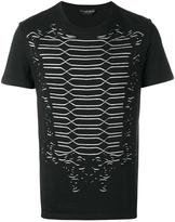 Alexander McQueen cut out detail T-shirt