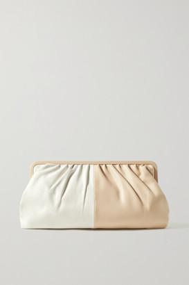 Oroton Celia Two-tone Leather Clutch