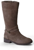 Classic Girls Wide Molly Riding Boots-Spice Brown