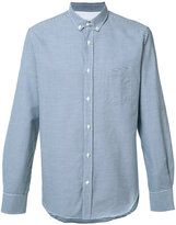 Officine Generale gingham check shirt - men - Cotton - S