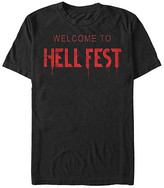Fifth Sun Men's Tee Shirts BLACK - Hell Fest 'Welcome To' Tee - Men