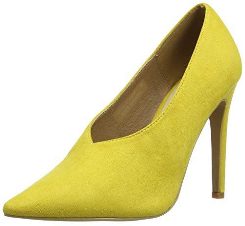 60b44e6c3ed Women's Tate HIGH Vamp Basic Court Closed Toe Heels, Black 0001, 37 EU