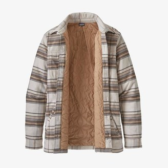 Patagonia Jacket WS Insulated Fjord Flannel Birch White - S