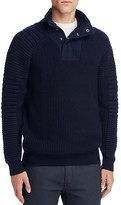 Scotch & Soda Structured Half-Zip Pullover Sweater