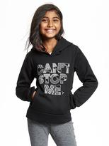 """Old Navy """"Can't Stop Me"""" Reflective Hoodie for Girls"""