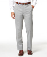 Alfani Men's Traveler Light Grey Solid Slim-Fit Pants, Only at Macy's