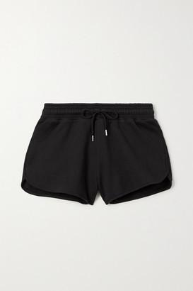 Ninety Percent Farrah Organic Cotton-jersey Shorts - Black