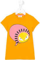 Fendi printed T-shirt - kids - Cotton/Spandex/Elastane - 2 yrs