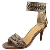 Joe's Jeans Pax Women Open-toe Leather Bronze Slingback Heel.