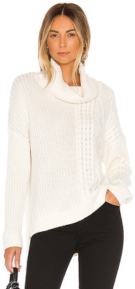 Splendid Lakewood Cable Cashmere Blend Sweater