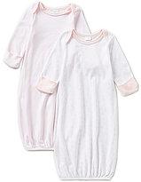 Edgehill Collection Baby Girls Newborn-6 Months 2-Pack Gown