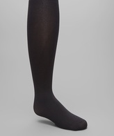 Me Moi Black Winter Opaque Tights - Infant Toddler & Girls