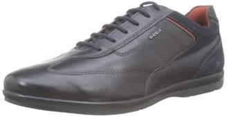 Geox Men's U ADRIEN B Formal Shoes Blue (Navy C4002) 10.5 UK