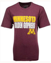 Colosseum Men's Minnesota Golden Gophers Wordmark Stack T-Shirt