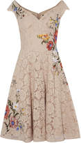 Karen Millen Dreamy Embroidered Lace Dress