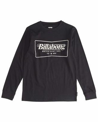 Billabong BILLABONGTrade Mark - Long Sleeves Tee Boy - Boys - 14 - Black