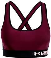 Under Armour CROSSBACK MID Sports bra raisin red