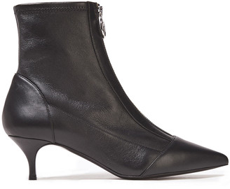 Tabitha Simmons Zippy Leather Ankle Boots