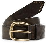 Liebeskind Studded Tip Leather Belt