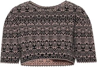 Alaia Stretch-knit top