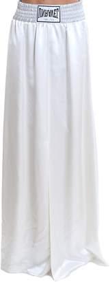 Taverniti So Ben Unravel Project Silk Boxing Long Skirt