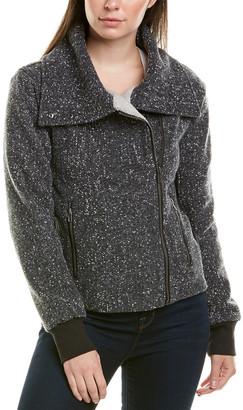Splendid Moto Wool-Blend Jacket