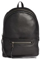 Rebecca Minkoff 'Always On Regan' Leather Backpack - Black