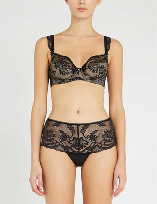 Fantasie Bronte embroidered mesh bra