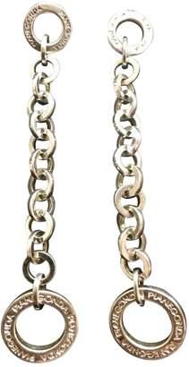 Pianegonda Grey Silver Earrings