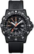 Luminox RECON Point Man - kilometer scale Men's Quartz watch with Black dial featuring LLT light Technology 45 millimeters Carbon Compound case and Black PU Strap XL.8821.KM