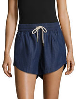 Kensie Cotton Drawstring Shorts