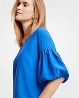 Ann Taylor Balloon Sleeve Top