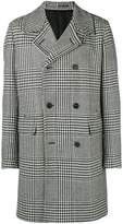 Givenchy houndstooth double-breasted coat