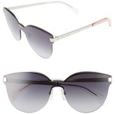 Tommy Hilfiger Women's 99Mm Rimless Cat Eye Sunglasses - Gold