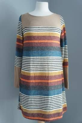 Wanna B Striped Sweater Dress