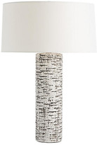 Arteriors Nico Table Lamp - Ivory/Charcoal