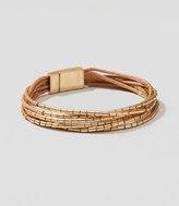 LOFT Metallic Beaded Bracelet
