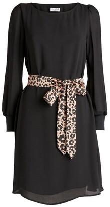 Claudie Pierlot Tie-Waist Dress